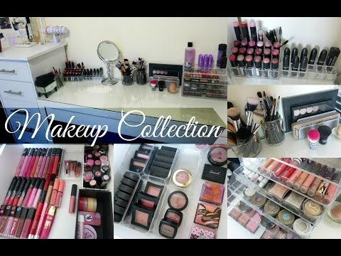 Makeup Collection & Storage 2014