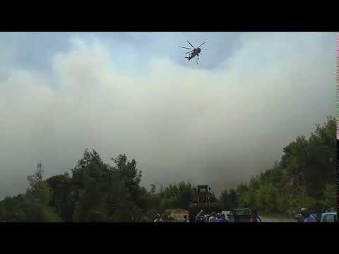 Newpost.gr - Πυρκαγιά στο Κοντοδεσπότι Εύβοιας
