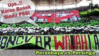 Koreo Bonek Sindir PSSI | Song For Pride awal laga Persebaya vs Persinga, Piala Indonesia 2019
