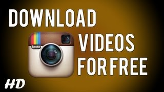 Gambar cover How To Download Any Instagram Videos For Free on Computer! [HD]