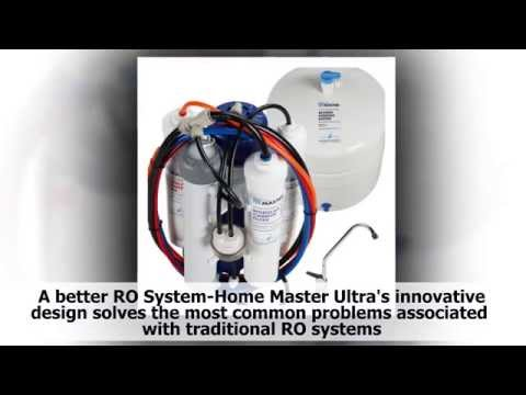 Reverse Osmosis Water Filter Reviews, Home Master TMULTRA Ultra RO Undersink Reverse Osmosis System