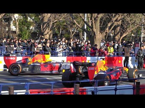 F1 レッドブル・ホンダ東京デモ走行 Red Bull Showrun Tokyo