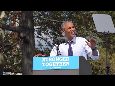 President Barack Obama - Stump Against Trump (Philadelphia 9/13/2016)
