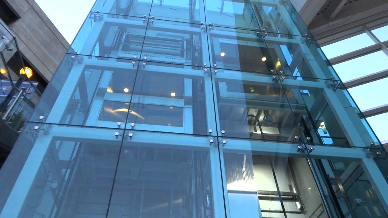 Petronas Twin Towers elevators - YouTube