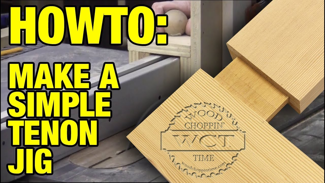 how to make a tenon