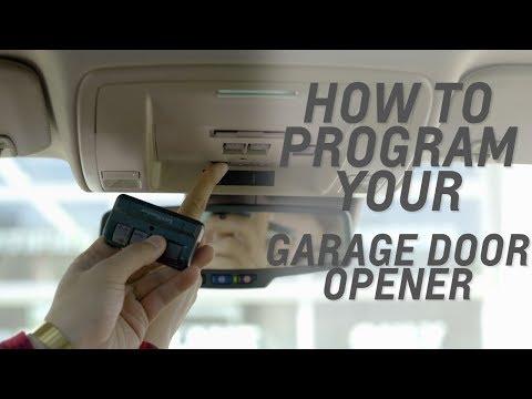 How To Program Your Garage Door Opener Saskatoon Motor Products Youtube
