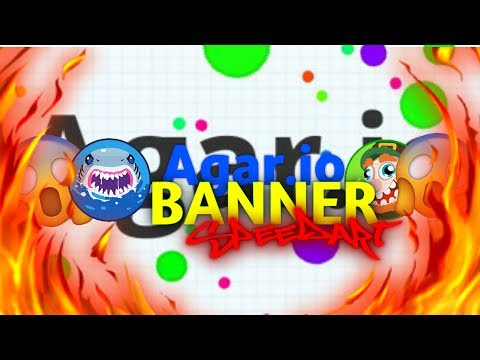 Agar.io Banner For Flood / Little Speedart