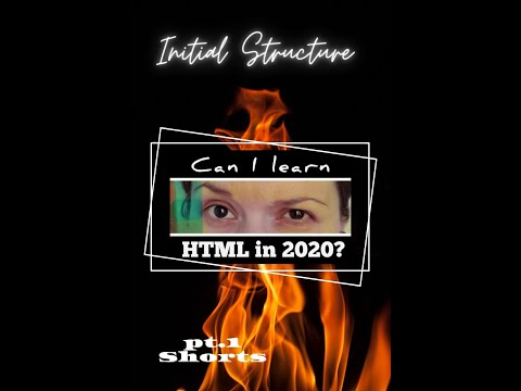 A Recipe Web Page In 2020 - HTML Initial Structure Pt.1