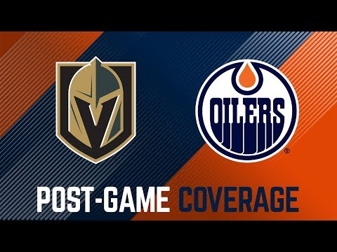 LIVE | Oilers Post-Game Interviews vs. Vegas