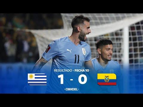 Eliminatorias Sudamericanas | Uruguay 1-0 Ecuador | Fecha 10