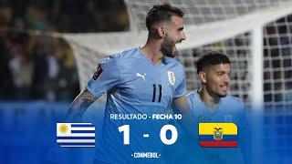 Уругвай  1-0  Эквадор видео