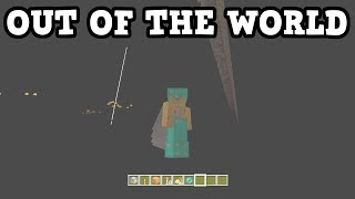 Minecraft Xbox 360 / PS3 - How To Get OUT OF THE WORLD