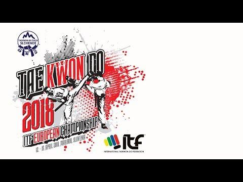 ITF TAEKWON-DO EUROPEAN CHAMPIONSHIP 2018 - RING1 - DAY3