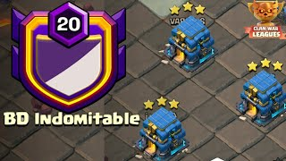 Most Strongest CWL 3 Star TH12 Attack Strategy In BD Indomiteble 2019 | Clash Of Clans