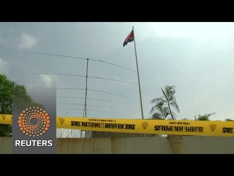 N.Korea, Malaysia bar citizens from leaving as murder row boils