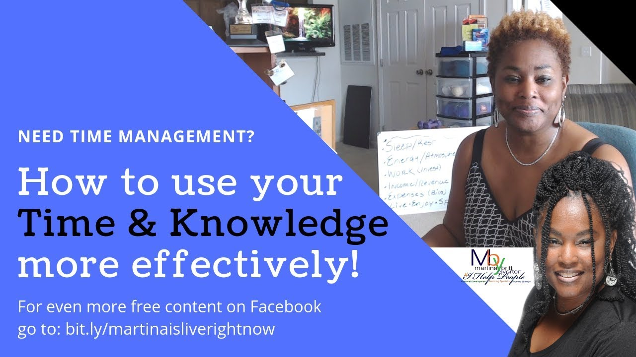 How to Use Your Time & Knowledge More Effectively w/ Martina