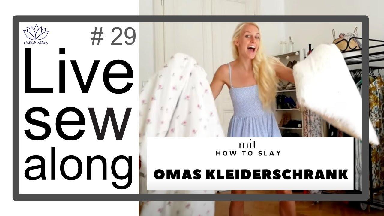 "Livesewalong | Upcycling mit Kati von ""How to slay Omas Kleiderschrank"""