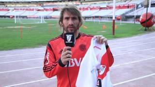 Somos River: ganá la camiseta de Ponzio