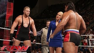 Jack Swagger defends America against Rusev: Raw, June 30, 2014