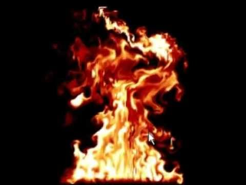 Fire simulation (real time)