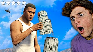 Playing As A MEGA GIANT In GTA 5.. (Rampage)
