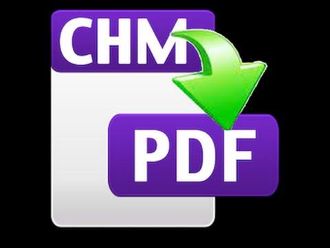 Hướng Dẫn Chuyển đổi Từ File Chm Sang File Pdf   Chm To Pdf