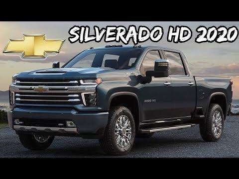 Chevrolet Chevy Silverado HD 2020 É revelada nos EUA | Top Carros