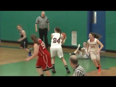 CVAC Senior Girls Basketball  3-15-16
