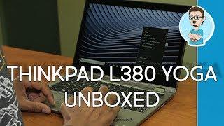 Lenovo ThinkPad L380 YOGA   Unboxing & First Impressions!