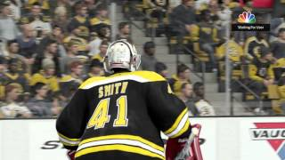 NHL 16 game i lost but had some chances  mike smith let up 2 goals but thats it