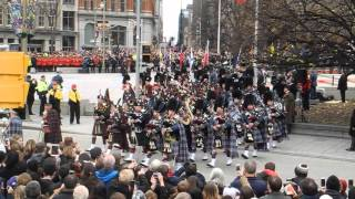 Remembrance Day 2015 Ottawa