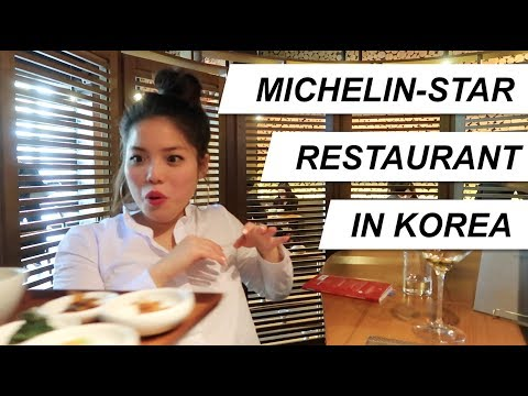 Korea Day 3 - first MICHELIN STAR restaurant!