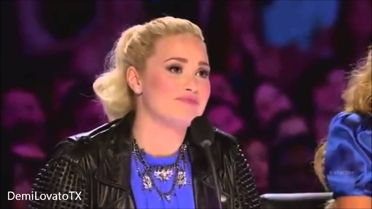 X Factor Judges 2013 Demi Lovato Best Moments of Demi L...