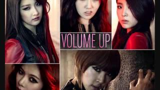 4Minute- Volume Up (Rom+Eng+DL) Lyrics
