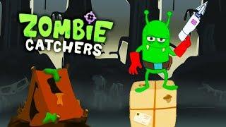 ОХОТА НА БОЛОТНЫХ ЗОМБИ Перешёл на 41 уровень Мульт игра для детей ЛОВЦЫ ЗОМБИ Zombie Catchers