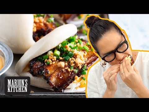 The bao you should make for the people you LOVE ❤️| Chinese Braised Pork Belly Bao |Marion's Kitchen