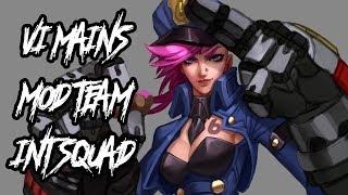 INT SQUAD | Vi Mains Mod Team 5-Man Ranked Flex Placements | League of Legends (Season 8)