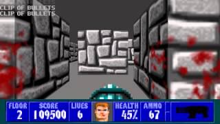 Wolfenstein 3D - Episode 6, Floor 2