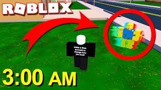DON'T PLAY ROBLOX À 3h00 du matin!