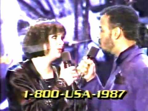 Linda Ronstadt & James Ingram -  Somewhere Out There (Live 1987)