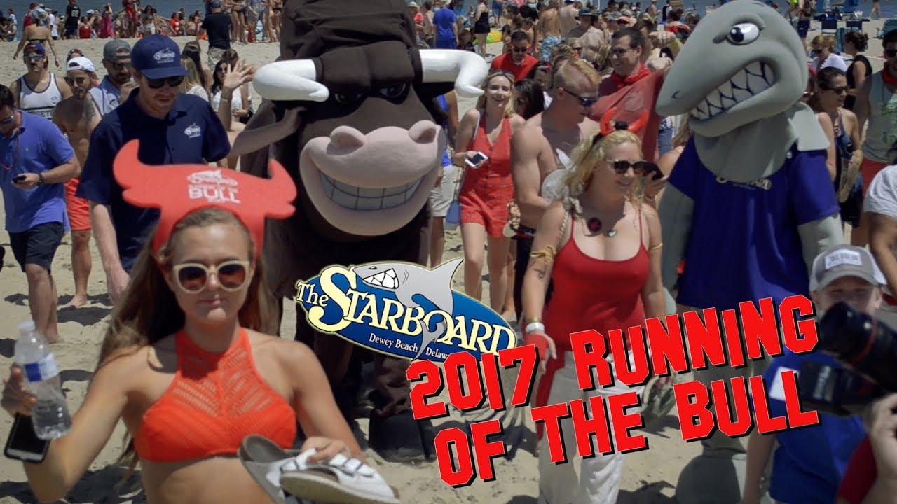 Running Of The Bull 2017 Starboard Dewey Beach
