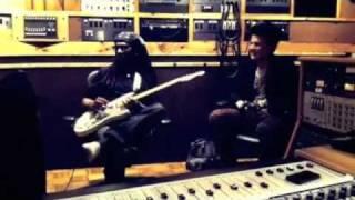 nile rodgers adam lambert in the studio