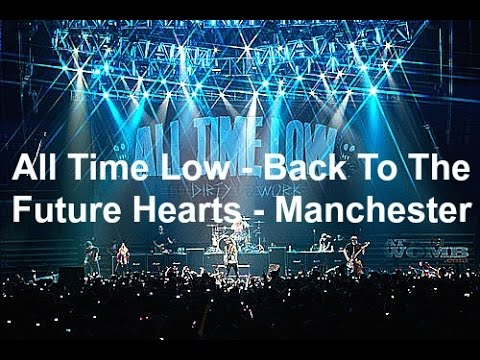 All Time Low - Back To The Future Hearts - Manchester