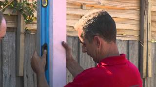 How To Install Posts And Beams For A Carport - Diy At Bunnings