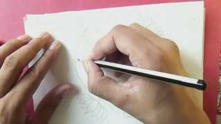 how to make madhubani painting