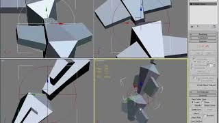 Моделлинг руки (ВИДЕОУРОКИ; 3ds Max; 3D Modeling; 3D Моделирование)