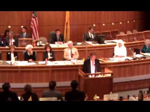 U.S. Senator Tom Udall Speaks on NM Rural Development, Job Creation to Legislature (2/18/2013)