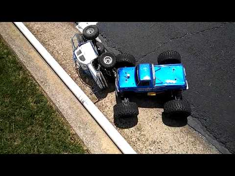 RC Car/Trucks in an all out Demolition Derby :)!!!!