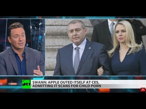 RT America: Apple complying with US gov't by not encrypting iCloud – Ben Swann