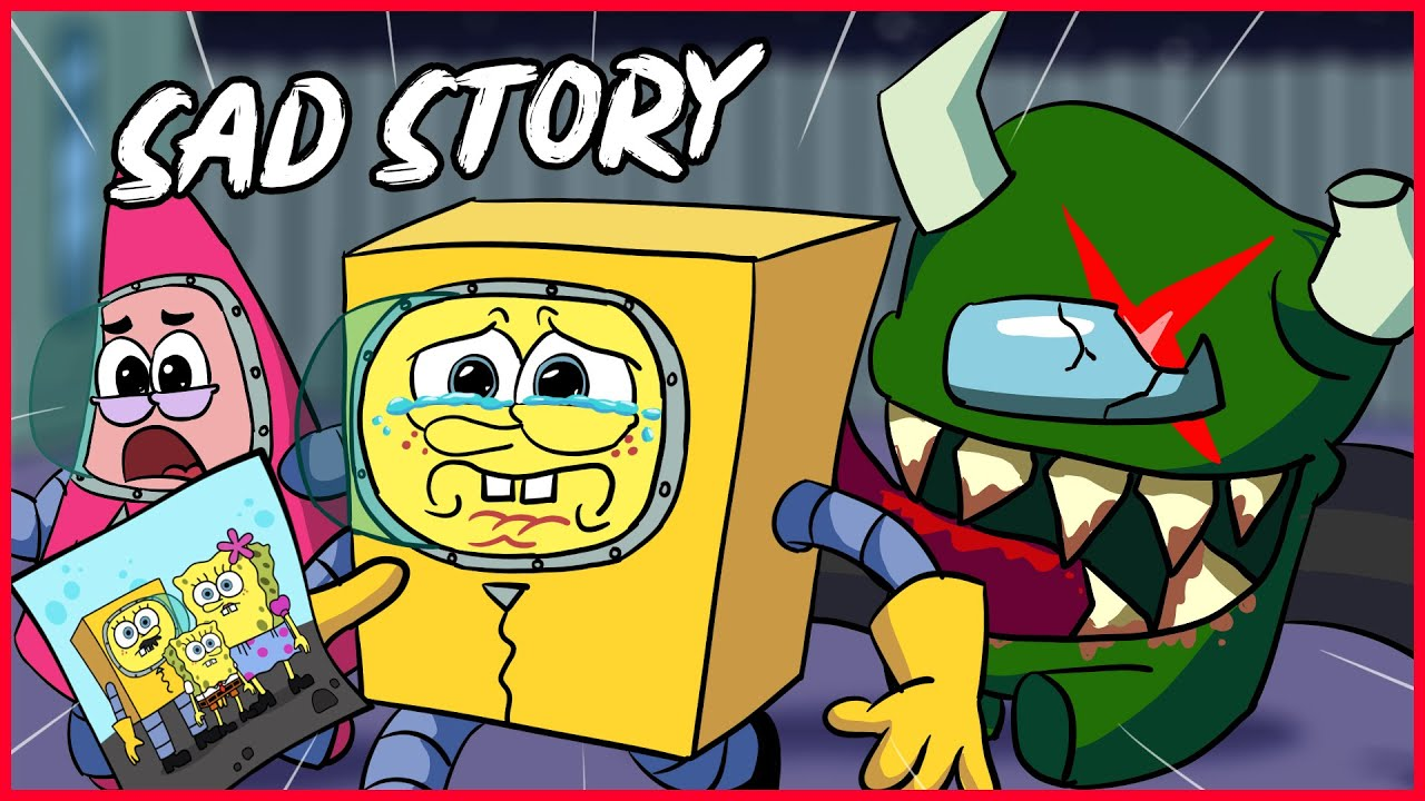 RIP Spongebob dad vs Imposter 😢   Very Sad Story Animation   OGG animation